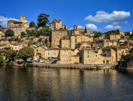 The village of Puy l'Enveque in France