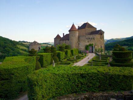 Berze le Chateau in Burgundy