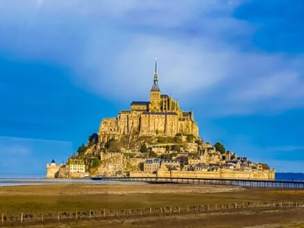 The Gothic Abbay of Mont-St-Michel