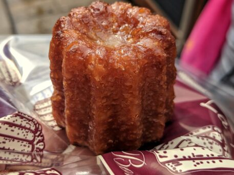 Cannelés a French food specialty of Bordeaux