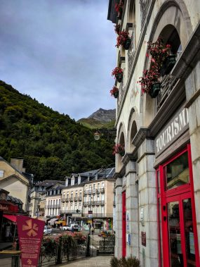Cauterets village in the Pyrenees