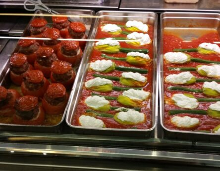 Farces - traditional food of stuffed vegetables