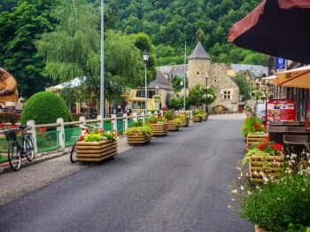 Saint-Lary a cycling friendly village in the Pyrenees