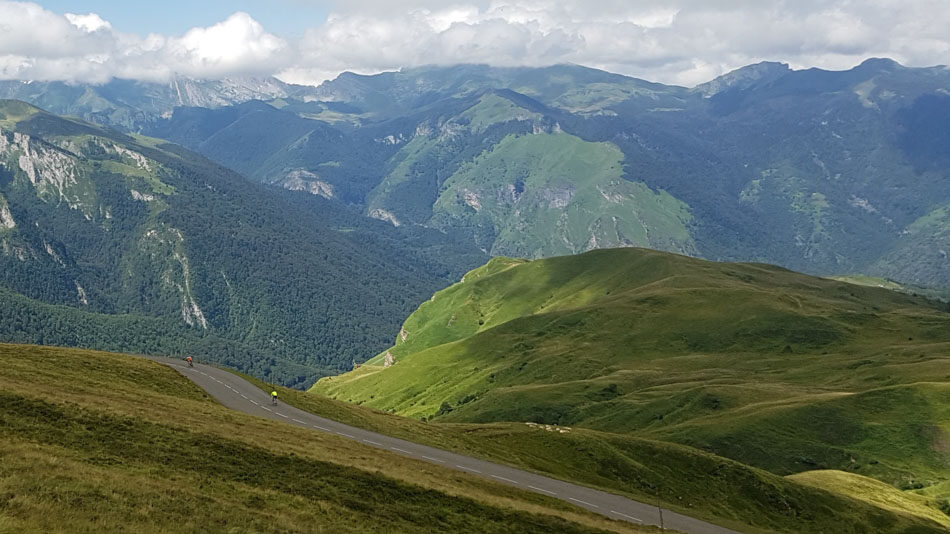 Mountain views from the top of the Col d'Aubisque
