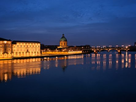 City of Toulouse at night