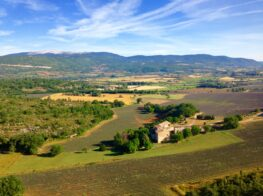 Mont Ventoux and the Provence Countyside